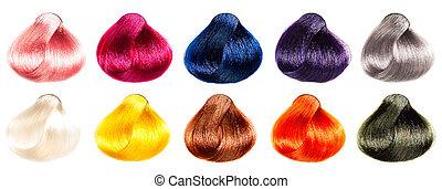 Hair Palette samples