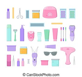 Hair removal collection