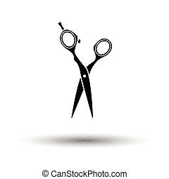 Hair scissors icon