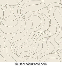 hair seamless pattern