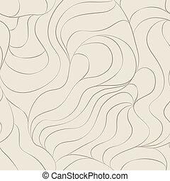 hair seamless pattern