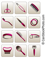 Hair & skin beauty care accessories