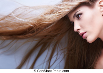 Hair - Young girl with beautiful hair