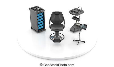 Hair Studio - 3d hair dresser salon, hair studio