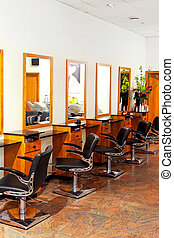Hair studio - Professional luxury hair studio with modern...