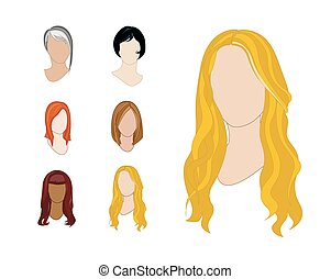 Hair Styles Set