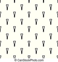 Hairbrush pattern vector seamless