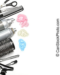 hairdresser accessories - hairdresser scissors, combs and...