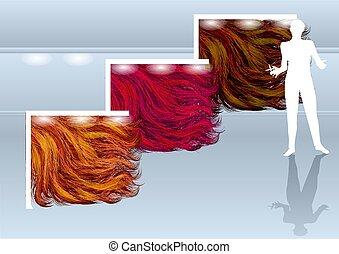 hairdressing salon concept