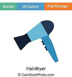 hairdryer, icono