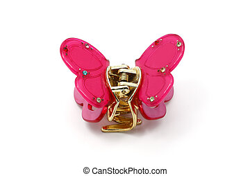 Hairpin for hair with Butterfly.