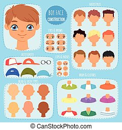 hairstyle , θέτω , φόντο , δημιουργία , κεφάλι , χείλια , παιδιά , χαρακτήρας , απομονωμένος , man-child, μάτια , στοιχεία , εικόνα , δομή , του προσώπου , αγόρι , μικρόκοσμος , ζεσεεδ , μικροβιοφορέας , avatar, κατασκευαστής , άντρας