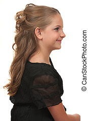 Hairstyle - Hairdo for little girls