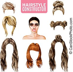 Hairstyles For Women Constructor - Hairstyles for women...
