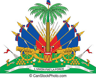 Haiti coa - Various vector flags, state symbols, emblems of...