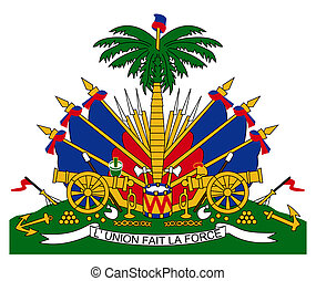 Haiti Coat of Arms - Haiti coat of arms, seal or national...