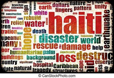 Haiti Earthquake Crisis Disaster as a Concept