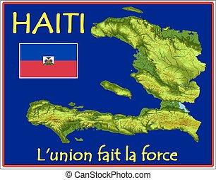 haiti, motto