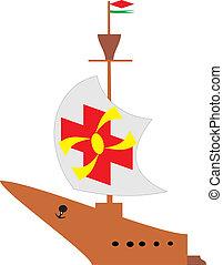 hajó, ősi