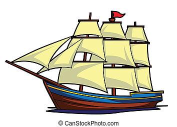 hajó, csónakázik