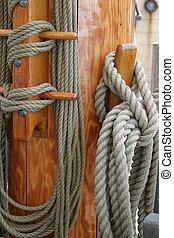 hajó, fonatok, árboc