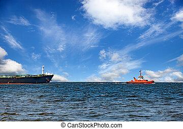 hajó, húzás