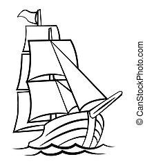 hajó, jelkép