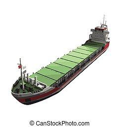 hajó, vektor, tartálykocsi, ábra