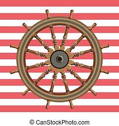 hajó, wheal, kormányzó