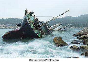 hajótörés, lesiklik