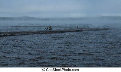 hajnalodik, halász, halfajták időmérés