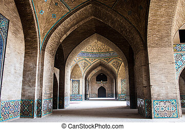 Hakim mosque in Isfahan, Iran