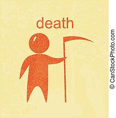 halál, aláír