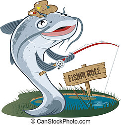 halász, harcsa