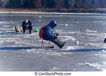 halászat, 43, tél