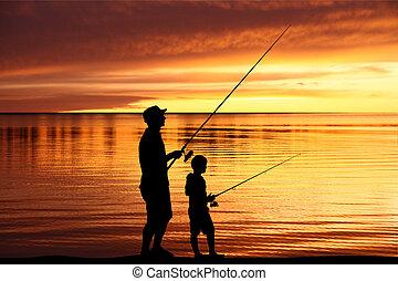 halászat