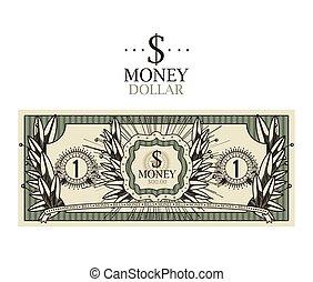halabarda dolara, projektować, odizolowany