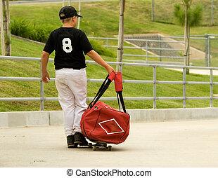 haladó, szokás, baseball