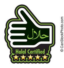 halal, etichetta