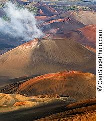 haleakala 噴火口