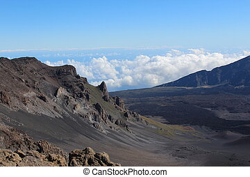 Haleakala Volcano Landscape