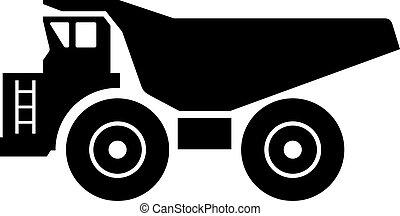 haler, camion