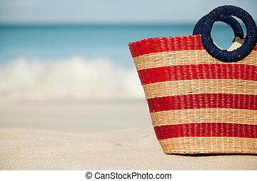 half beach bag