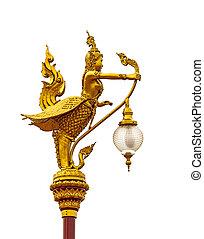 half-bird lamp