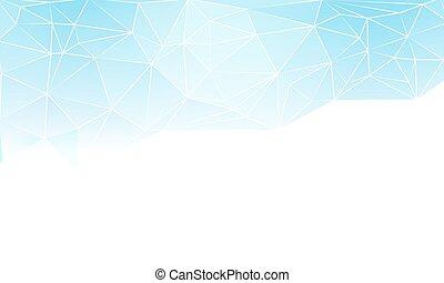 half blue triangular background - Half blue triangular...