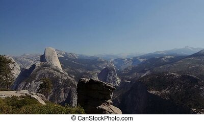 Half Dome Scenic Point, Yosemite Nationalpark, United States...