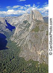 Half Dome, Yosemite National Park - Yosemite National Park,...