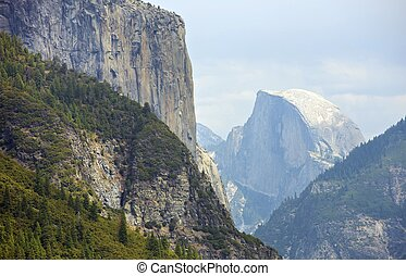Half Dome Yosemite Valley, California, USA. Yosemite...