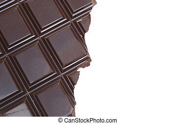 Half Eaten - half of a chocolate bar