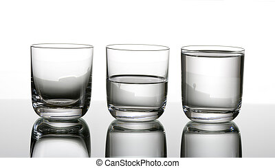 Half-full or half-empty - Eternal question: is the glass...